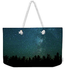 Colors Over The Milky Way Weekender Tote Bag