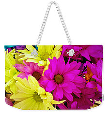 Weekender Tote Bag featuring the photograph Colors by Robert Knight