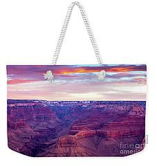Grand Canyon Sunrise Weekender Tote Bag