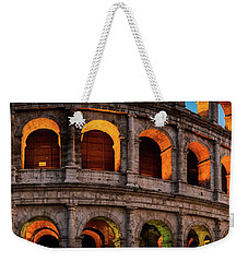 Colosseum In Rome, Italy Weekender Tote Bag