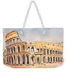 Colosseum Weekender Tote Bag by Marilyn Zalatan