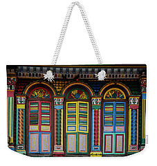 Colour Crazy Weekender Tote Bag by Jocelyn Kahawai