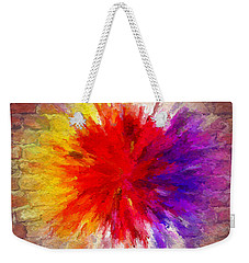 Colour To Lift Your Soul Weekender Tote Bag