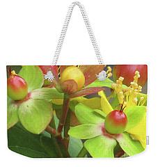 Coloured Beads Weekender Tote Bag by Kim Tran