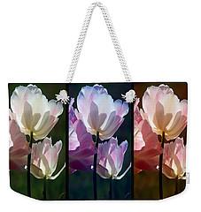 Coloured Tulips Weekender Tote Bag by Robert Meanor