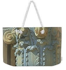 Weekender Tote Bag featuring the photograph Coloured With Sand And Sky by Connie Handscomb