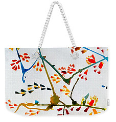Colourful Blossoms Weekender Tote Bag by Sonali Gangane