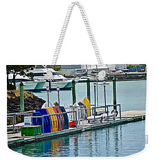 Colourful Dinghies Auckland Weekender Tote Bag