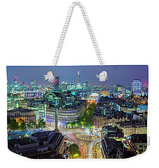 Colourful London Weekender Tote Bag