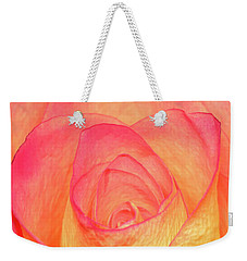 Weekender Tote Bag featuring the photograph Colourful Rosie by Roy McPeak