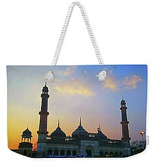Colourful Sunset At Monument Weekender Tote Bag