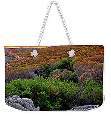 Weekender Tote Bag featuring the photograph Colours Of North Head by Miroslava Jurcik