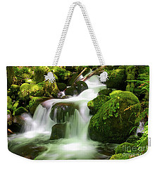 Columbia Gorge Stream Weekender Tote Bag