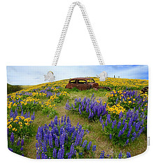 Columbia Hills Wildflowers Weekender Tote Bag
