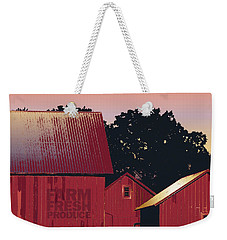 Columbia Maryland Farm - Farm Fresh Produce Weekender Tote Bag