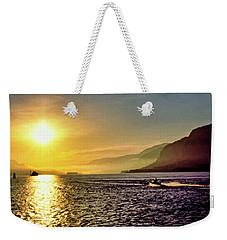 Columbia River 001 Weekender Tote Bag