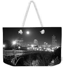 Columbia Skyline At Night Weekender Tote Bag