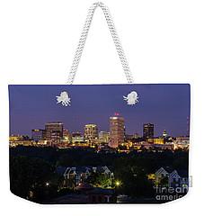 Columbia Skyline At Twilight Weekender Tote Bag