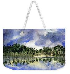 Columbian Shoreline Weekender Tote Bag by Randy Sprout
