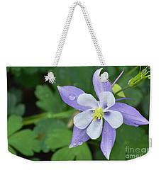 Columbine After A Shower Weekender Tote Bag