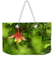 Columbine Blossom Weekender Tote Bag