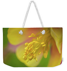 Weekender Tote Bag featuring the photograph Columbine by Greg Nyquist