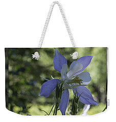 Columbine With Styalized Border Weekender Tote Bag