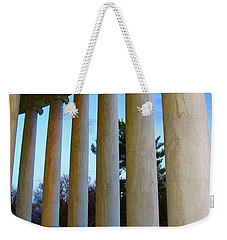 Columns At Jefferson Weekender Tote Bag