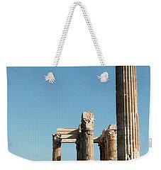 Columns Of Athens Weekender Tote Bag