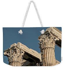 Columns Of Greece Weekender Tote Bag
