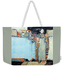 Columns Weekender Tote Bag by Ron Stephens