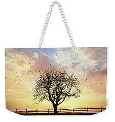 Weekender Tote Bag featuring the photograph Come Fly Away by Lori Deiter