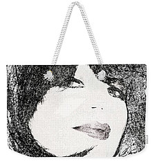 Come Hither Look Weekender Tote Bag by Ellen O'Reilly