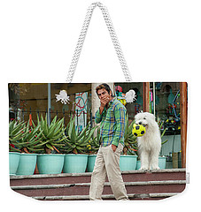 Come On And Play Weekender Tote Bag