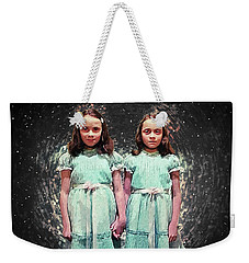 Come Play With Us - The Shining Twins Weekender Tote Bag