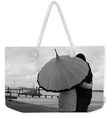 Come Rain Or Shine Weekender Tote Bag