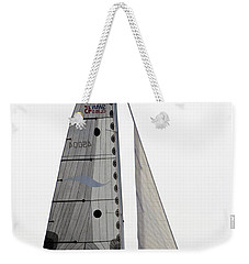 Weekender Tote Bag featuring the pyrography Come Sail Away by Shoal Hollingsworth