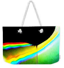 Come-sit In My Rainbow Weekender Tote Bag