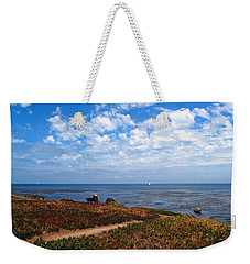 Weekender Tote Bag featuring the photograph Come Sit With Me by Joyce Dickens