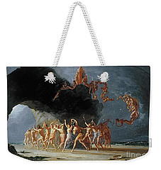 Come Unto These Yellow Sands Weekender Tote Bag by Richard Dadd