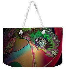 Weekender Tote Bag featuring the photograph Comely Cosmos by Irma BACKELANT GALLERIES