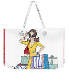 Comes With Baggage Weekender Tote Bag