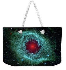 Comets Kick Up Dust In Helix Nebula  Weekender Tote Bag
