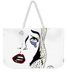 Comic Lady Weekender Tote Bag
