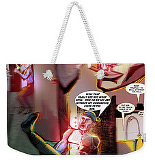 Comic Page Edit Weekender Tote Bag