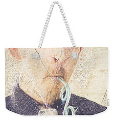 Weekender Tote Bag featuring the digital art Comic Soda Poster by Jorgo Photography - Wall Art Gallery