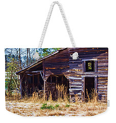 Coming Apart With Character Barn Weekender Tote Bag