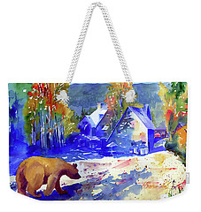 Coming For Dinner At Rainbow Lodge Weekender Tote Bag
