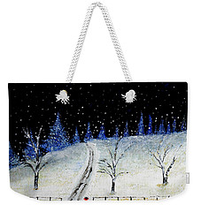 Coming Home For Christmas Weekender Tote Bag