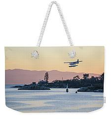 Coming In For A Landing Weekender Tote Bag